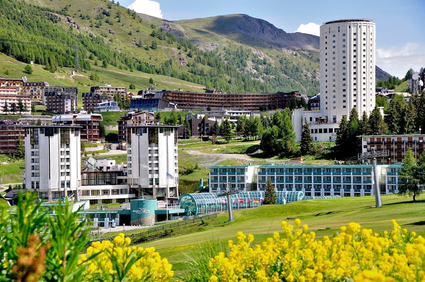 th sestriere hotel per gruppi vacanze in montagna